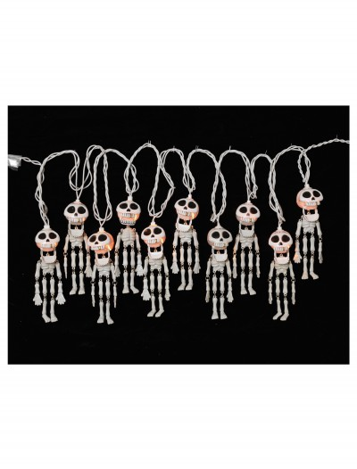 10 Ct. Electric Skeleton String Lights Set buy now