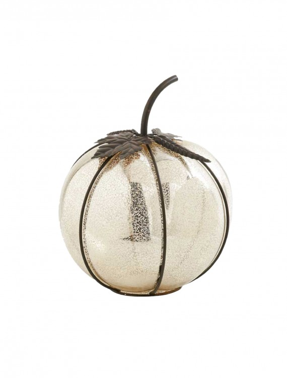 11 Inch Mercury Pumpkin with Metal Detail buy now