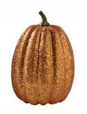 "11"" Tall Orange Glitter Pumpkin buy now"