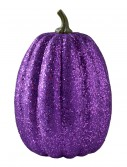 "11"" Tall Purple Glitter Pumpkin buy now"
