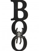 "12"" Black Boo Cutout Wall Plaque buy now"