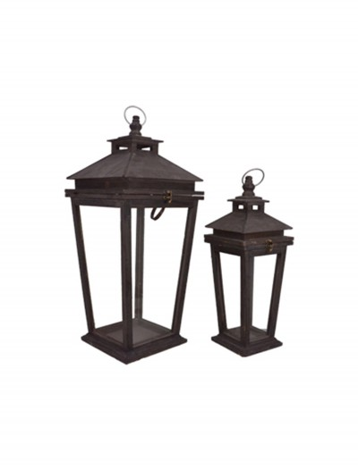 "18"" & 25'' Square Lantern Set buy now"