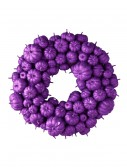 "24"" Purple Glitter Pumpkin Wreath buy now"
