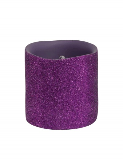 3 Inch Purple Glitter LED Candle buy now