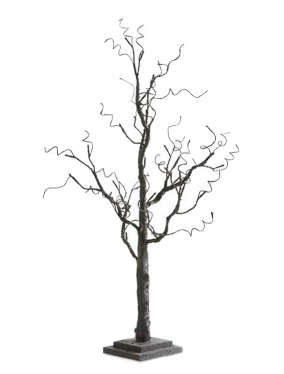 """35"""" Black Tree with Glitter and 30 LED Lights buy now"""