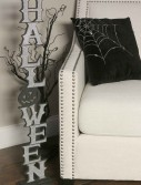 "36"" Silver Vertical Halloween Cutout buy now"