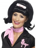 50s Flicked Beehive Black Wig buy now