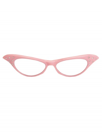 50s Pink Frame Glasses buy now