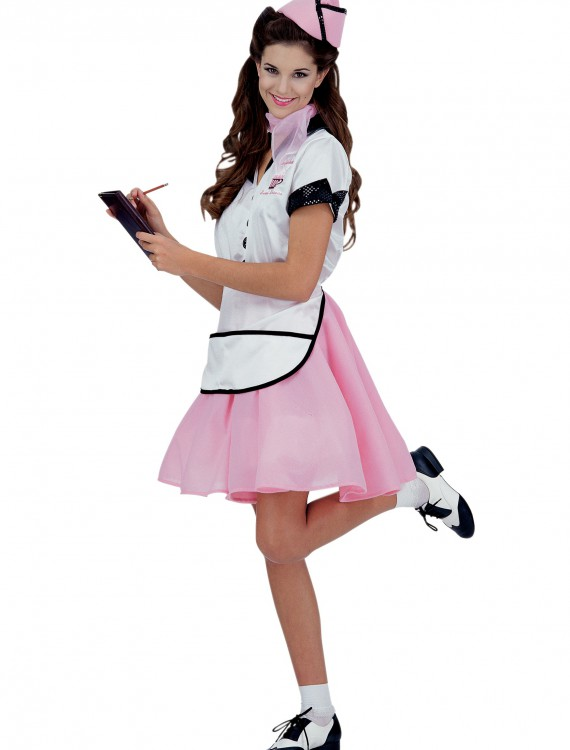 Womens 50s Soda Pop Girl Costume buy now