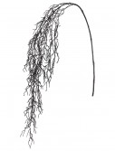 59 Inch Glittery Black Hanging Twig Spray buy now