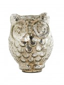 6 Inch Mercury Owl with Large Eyes buy now