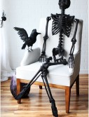 "63"" Black Glitter Skeleton buy now"