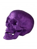 "7"" Large Purple Glitter Skull buy now"