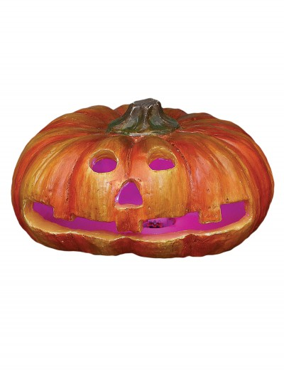 "7"" Round Resin Jack O Lantern buy now"