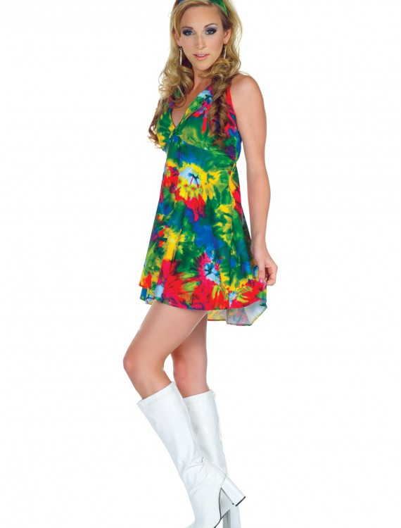 70s Tie Dye Diva Costume buy now