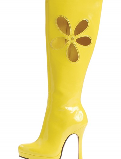 70's Yellow Ladies Boots buy now