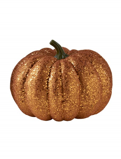 "8"" Round Orange Glitter Pumpkin buy now"
