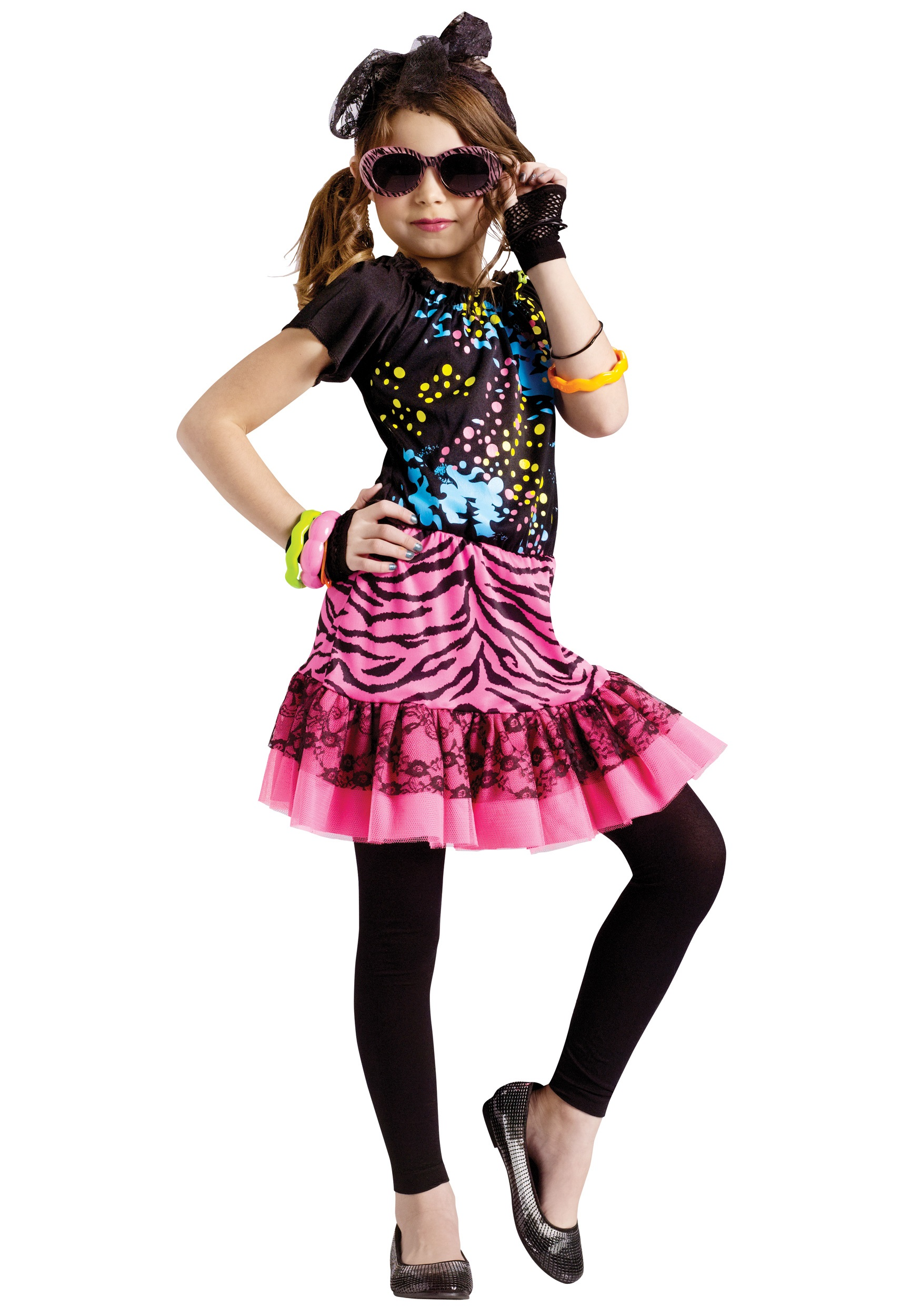 366d2b2aec 80s Pop Party Kids Costume - Halloween Costumes
