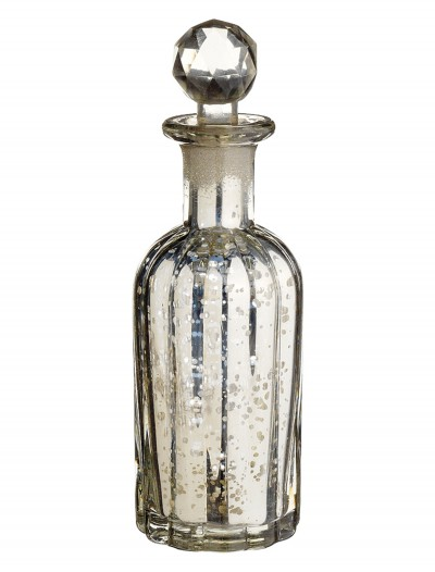 9 inch Mercury Glass Perfume Bottle buy now