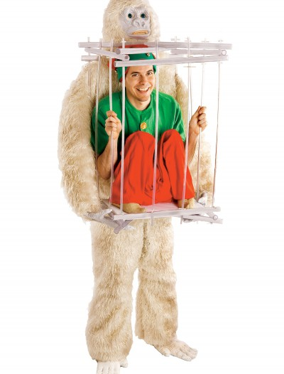 Abominable Snowman & Cage Costume Kit buy now