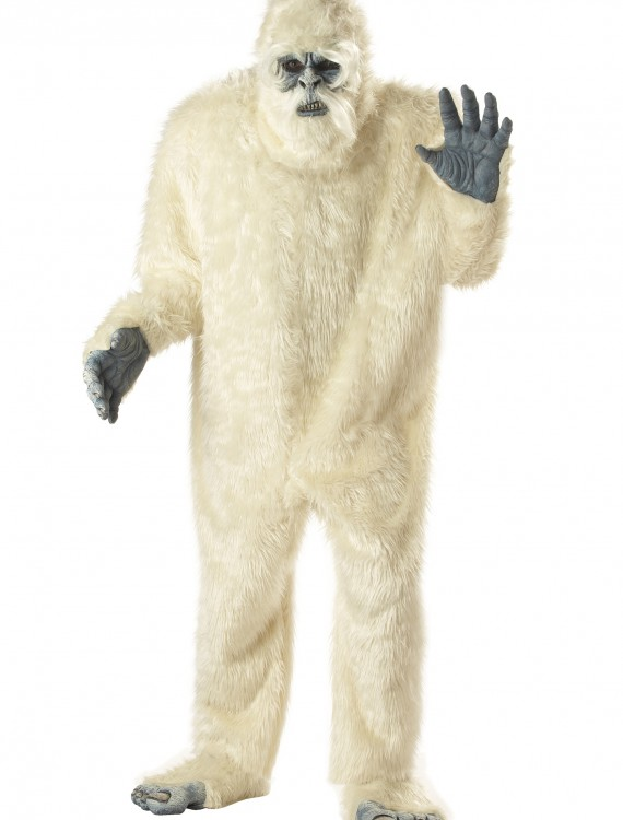 Plus Size Abominable Snowman Costume buy now