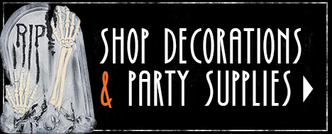 Halloween decorations & party supplies