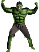 Adult Avengers Hulk Muscle Costume buy now