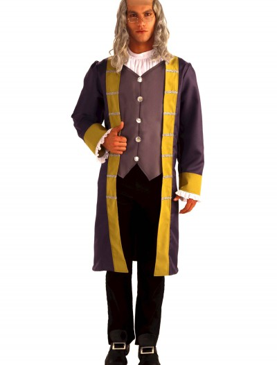 Adult Benjamin Franklin Costume buy now