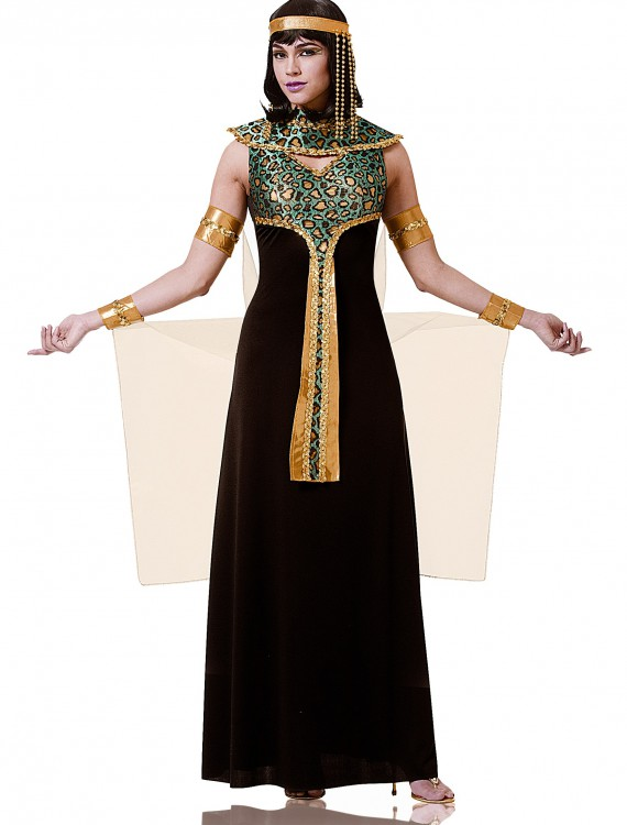 Adult Black and Teal Cleopatra Costume buy now