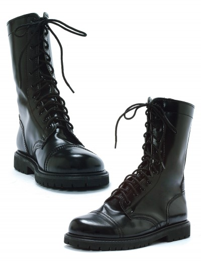 Adult Black Combat Boots buy now
