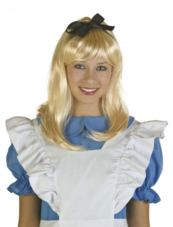Adult Blonde Alice Wig buy now