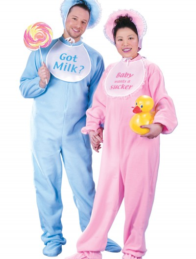 Adult Blue Pajamas Costume buy now