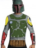 Adult Boba Fett Top and Mask buy now