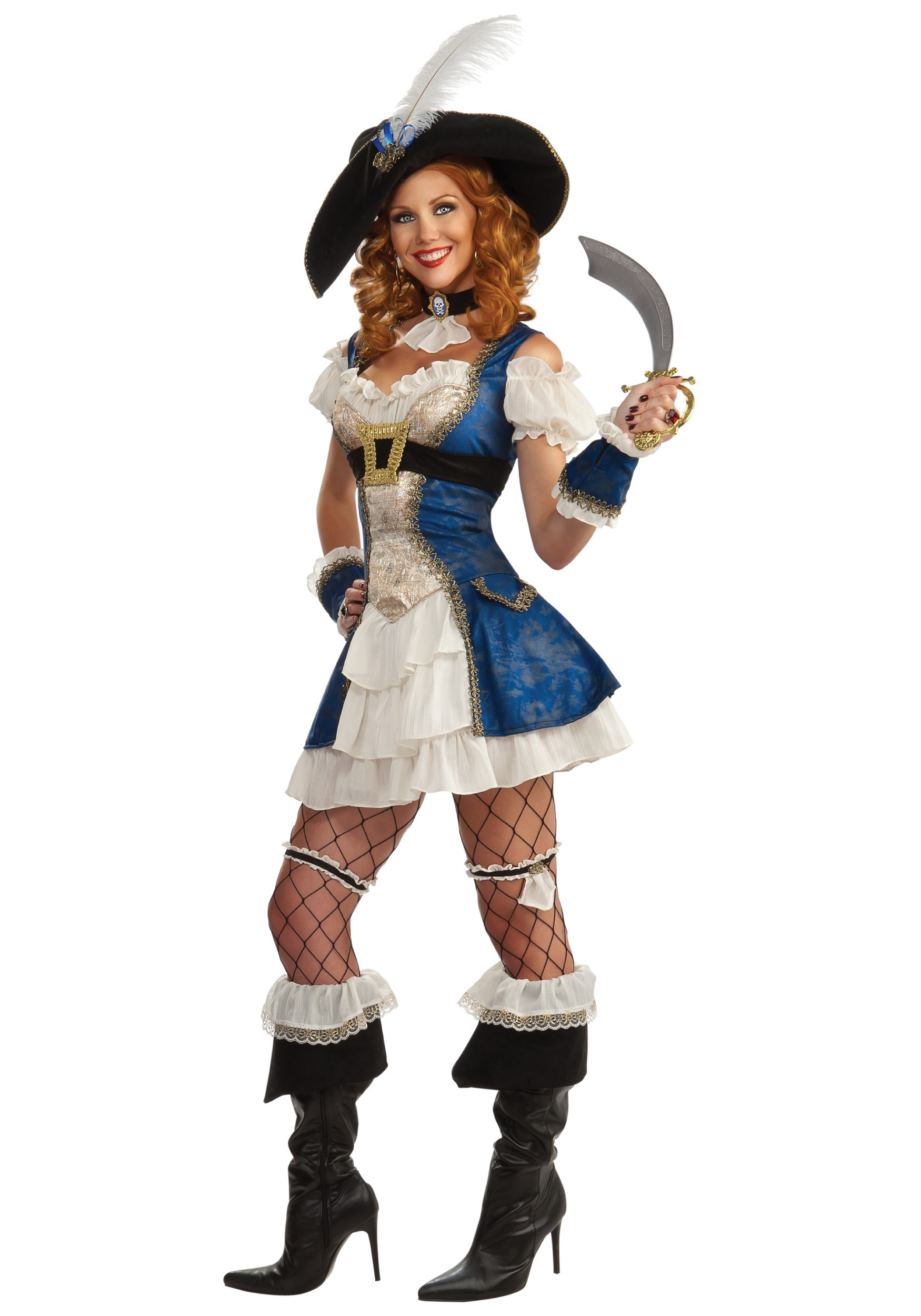 Adult Bonnie Blue Pirate Costume  sc 1 st  Halloween Costumes & Adult Bonnie Blue Pirate Costume - Halloween Costumes