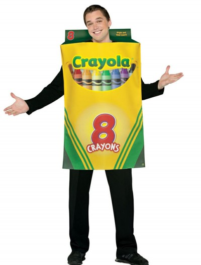 Adult Crayon Box Costume buy now
