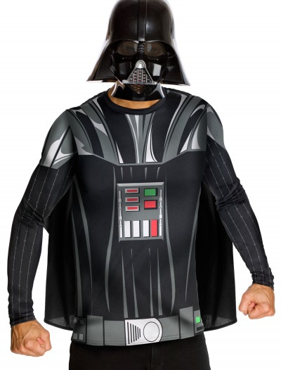Adult Darth Vader Top and Mask buy now