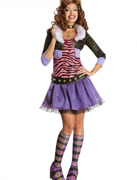 Adult Deluxe Clawdeen Costume buy now