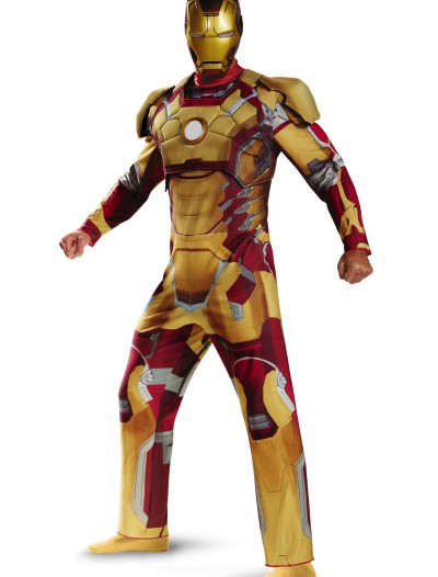 Adult Deluxe Iron Man Mark 42 Costume buy now