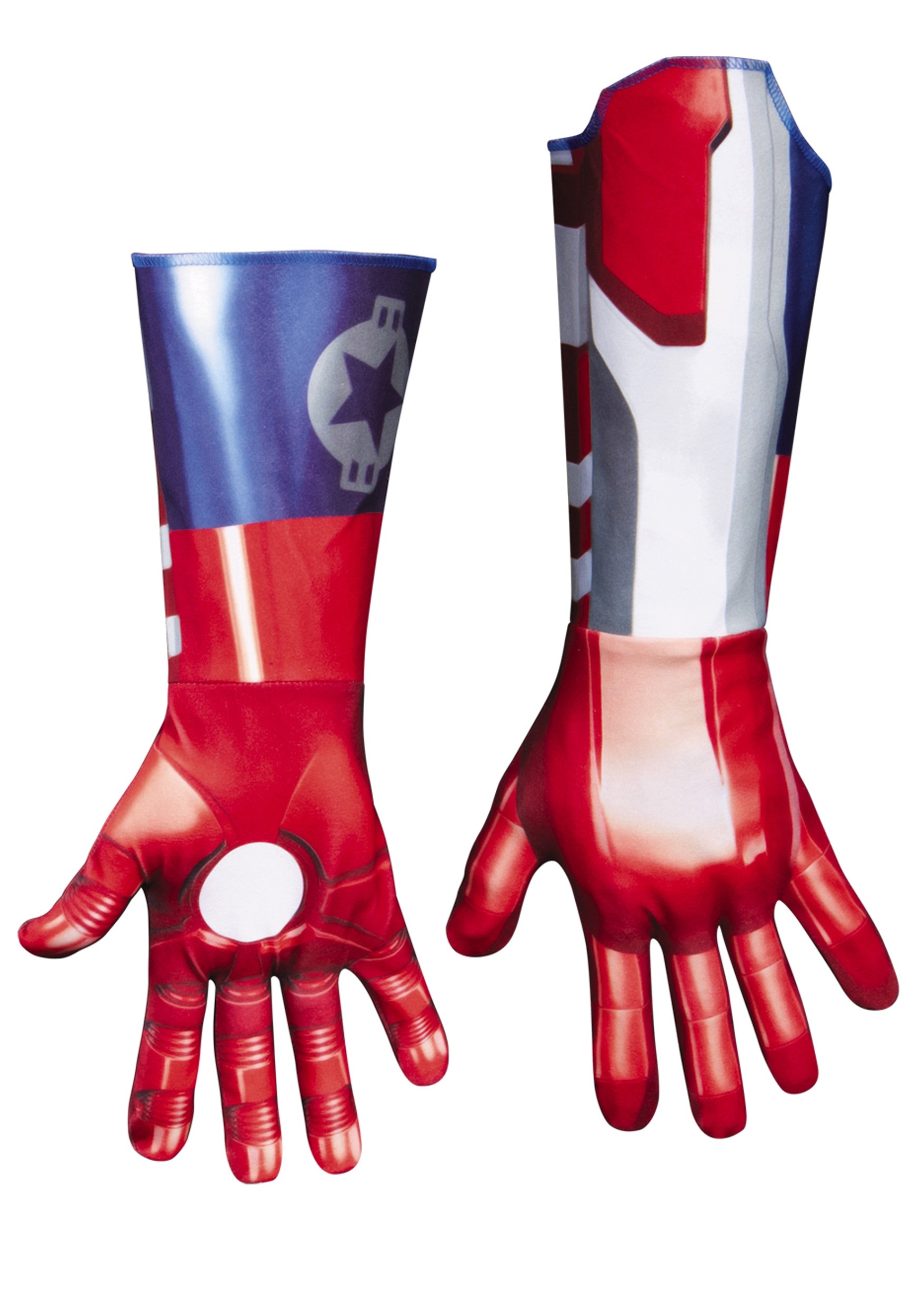 Adult Deluxe Iron Patriot Gloves  sc 1 st  Halloween Costumes & Adult Deluxe Iron Patriot Gloves - Halloween Costumes
