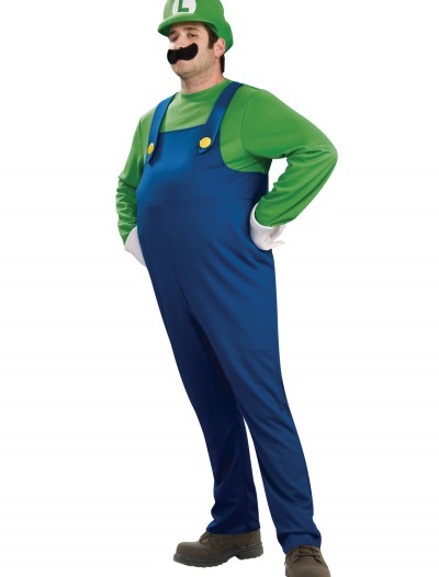 Adult Deluxe Luigi Costume buy now