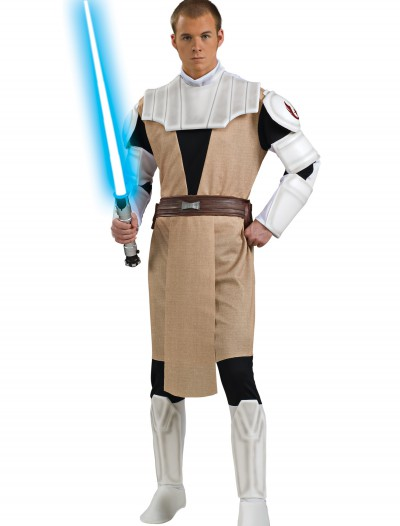 Adult Deluxe Obi Wan Kenobi Clone Wars Costume buy now