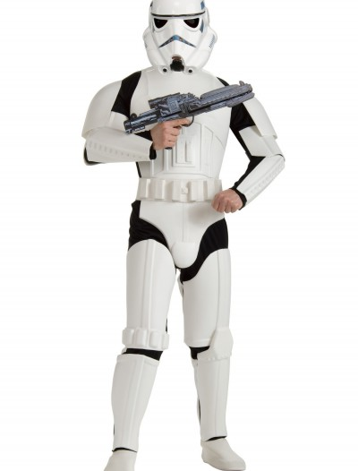 Adult Deluxe Plus Size Stormtrooper Costume buy now