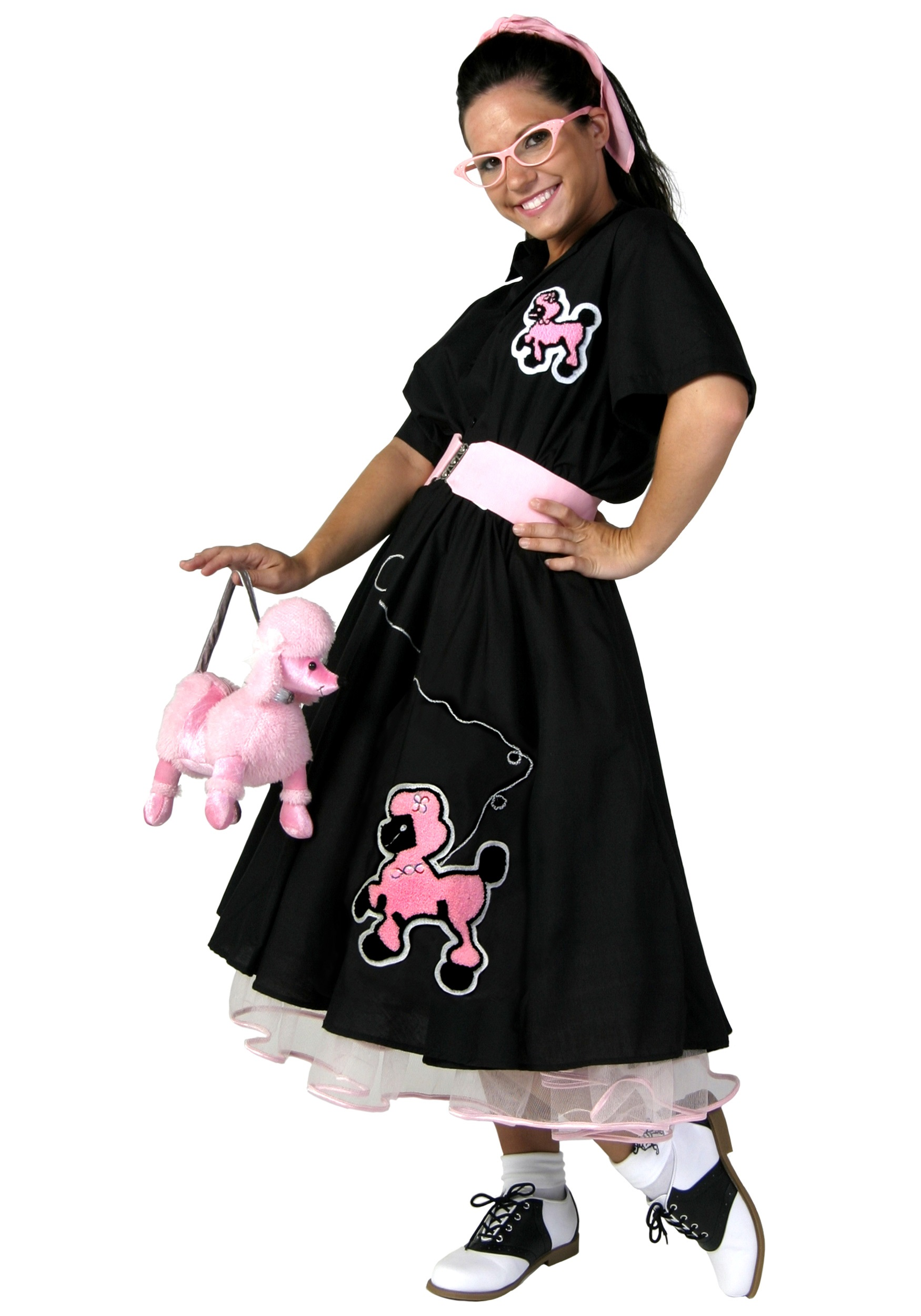 Adult Deluxe Poodle Skirt Costume  sc 1 st  Halloween Costumes & Adult Deluxe Poodle Skirt Costume - Halloween Costumes