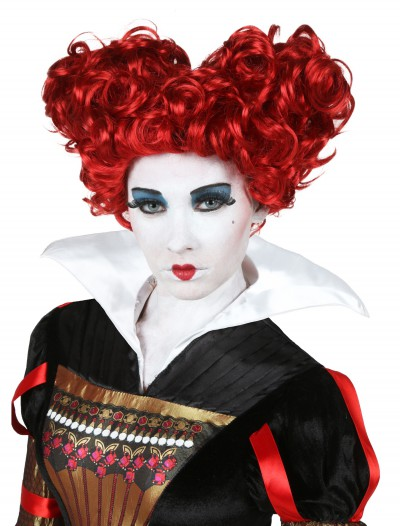 Adult Deluxe Red Queen Wig buy now