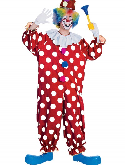 Adult Dotted Clown Costume buy now