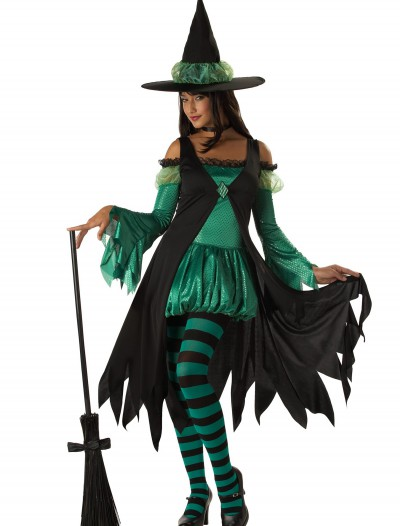 Adult Emerald Witch Costume buy now
