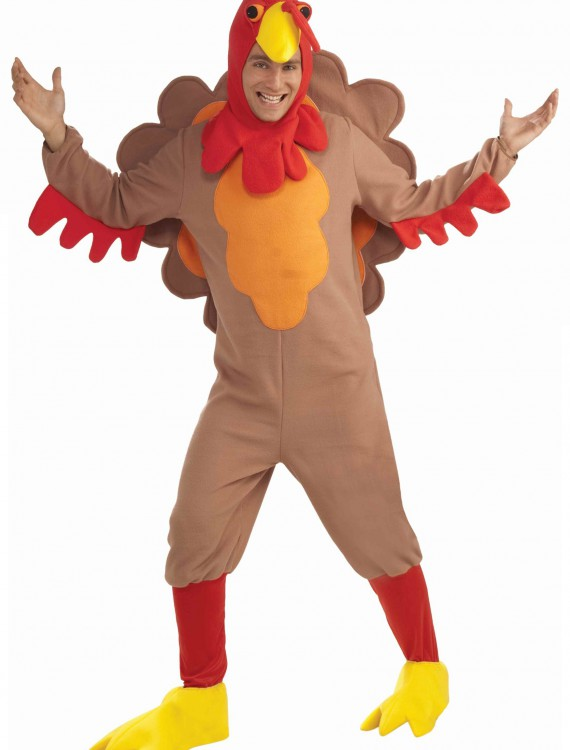 Adult Fleece Turkey Costume buy now