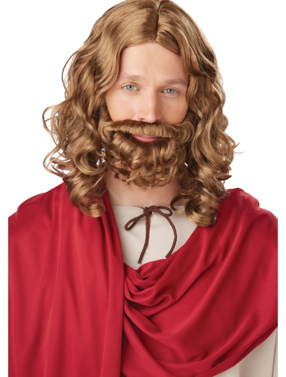 Adult Jesus Wig and Beard buy now