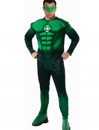 Adult Light Up Green Lantern Costume buy now