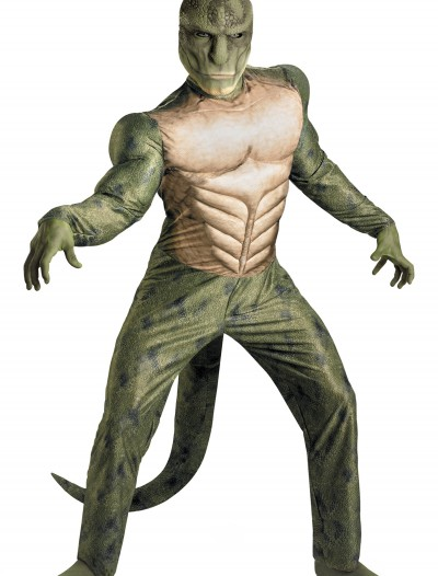 Adult Lizard Muscle Costume buy now
